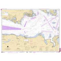 Marine Training, NOAA TRAINING CHART 18465TR: Straight of Juan De Fuca - Eastern Part