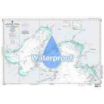 Region 9 - Eastern Asia, South Eastern Russia, Philippines, Waterproof NGA Chart 94033: Northern Part of Yellow Sea Including Bo Hai and Liaodong Wan