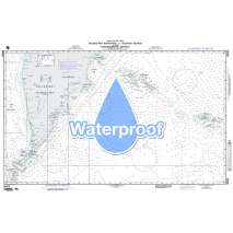 Region 9 - Eastern Asia, South Eastern Russia, Philippines, Waterproof NGA Chart 96028: Poluostrov Kamchat to Aleutian Islands