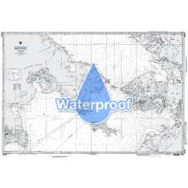 Region 9 - Eastern Asia, South Eastern Russia, Philippines, Waterproof NGA Chart 96036: Bering Strait