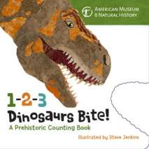 Board Books, 1-2-3 Dinosaurs Bite: A Prehistoric Counting Book
