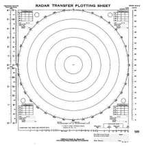 Marine Electronics, GPS, Radar, Radar Transfer Plotting Sheets