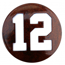 "Magnets & Metal Art, Seahawks ""12"" Magnet"