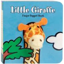 Jungle & Zoo Animals, Little Giraffe: Finger Puppet Book