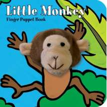 Jungle & Zoo Animals, Little Monkey: Finger Puppet Book