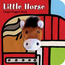 Farm & Domestic Animals, Little Horse: Finger Puppet Book