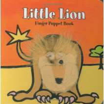 Jungle & Zoo Animals, Little Lion: Finger Puppet Book