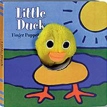 Farm & Domestic Animals, Little Duck: Finger Puppet Book