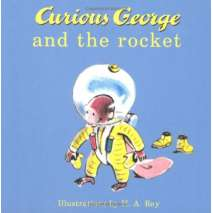 Board Books, Curious George and the Rocket