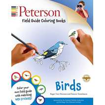 Birds, Peterson Field Guide Coloring Books: Birds