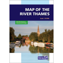Imray Guides :Map of the River Thames