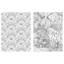 Posh Adult Coloring Book: Soothing Designs for Fun and Relaxation