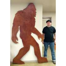 Metal Displays, SASQUATCH DISPLAY (8' TALL)
