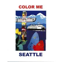 Coloring Books, Color Me Seattle