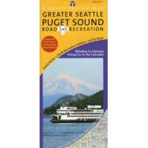 Washington Travel & Recreation Guides :Puget Sound/Greater Seattle Road & Recreation Map