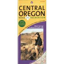 Oregon Travel & Recreation Guides, Central Oregon Road & Recreation Map, 3rd Edition