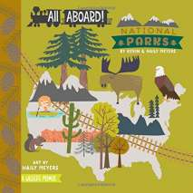 Board Books :All Aboard! National Parks