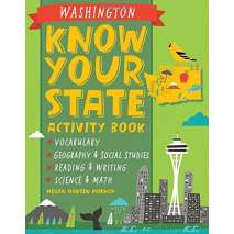 Geography & Maps, Know Your State Activity Book: Washington