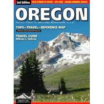Oregon Travel & Recreation Guides, Oregon Topo/Reference Map & Travel Guide, 2nd Edition