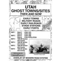 Historical Site and Related Guides, Utah Ghost Towns/Sites: Then and Now