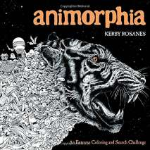 Adult Coloring Books, Animorphia: An Extreme Coloring and Search Challenge