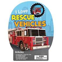 Boats, Trains, Planes, Cars, etc. :I Love Rescue Vehicles