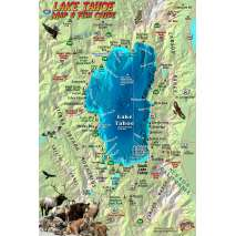 Lake Tahoe Map & Fish Guide