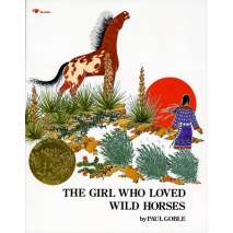 Native American Related, The Girl Who Loved Wild Horses