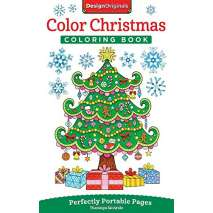Coloring Books, Color Christmas Coloring Book