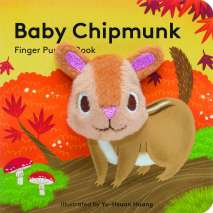 Finger Puppet Books, Baby Chipmunk: Finger Puppet Book