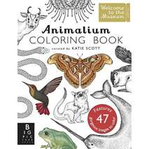 Adult Coloring Books, Animalium Coloring Book
