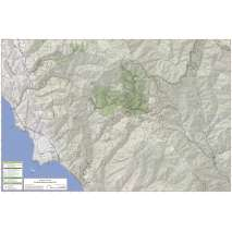 Bay Area Trail Map: Big Basin and Castle Rock 3rd Ed.