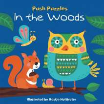 Board Books, Push Puzzles: In the Woods