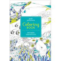 Coloring Books, Posh Panorama Adult Coloring Book: Oceans Unfurled