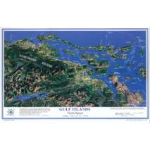 Placemat Charts, GULF ISLANDS Placemat