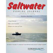 Fishing, Saltwater Fishing Journal -  4th Edition