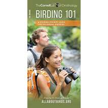 Birding, Birding 101: A Folding Pocket Guide for Beginning Birders