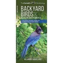 Bird Identification Guides, Backyard Birds of Western North America: A Folding Pocket Guide to Common Backyard Birds