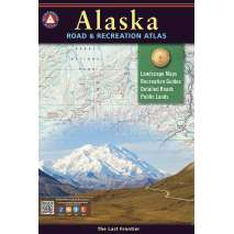 Alaska and British Columbia Travel & Recreation, Alaska Benchmark Road & Recreation Atlas