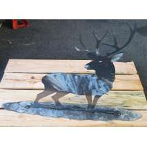 Metal Displays, Deer STAND-UP DISPLAY