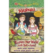 Children's Outdoors, My Magic Tree House Journal: Explore Your World with Jack and Annie! A Fill-In Activity Book with Stickers!