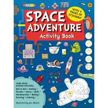 Space & Astronomy for Kids, Space Adventure Activity Book