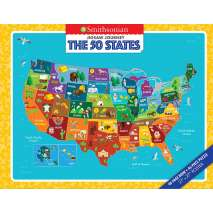 Geography & Maps, Jigsaw Journey Smithsonian: The 50 States