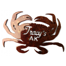 Custom Metal Art, Tracys Crab Shack Custom Magnet