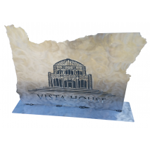 Custom Metal Art, Vista House Custom Display