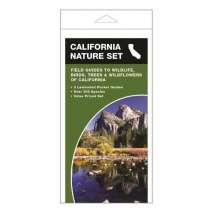Other Field Guides, California Nature Set: Field Guides to Wildlife, Birds, Trees & Wildflowers of California