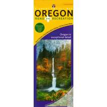 Oregon Travel & Recreation Guides, Oregon Road & Recreation Map