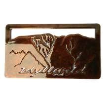 Custom Metal Art, Idyllwild Magnet