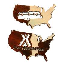 Custom Metal Art, KOA Custom USA magnets