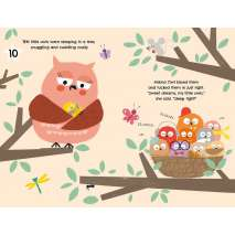 Board Books :10, 9, 8.Owls Up Late!